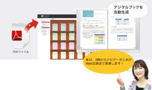 ロゴスウェア、本棚システムにデジタルブック自動生成機能を追加