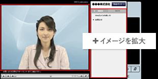 動画メイン+メニューのレイアウト